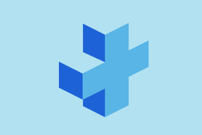 blue medical cross