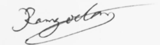 Arnaud Ramgoolam signature