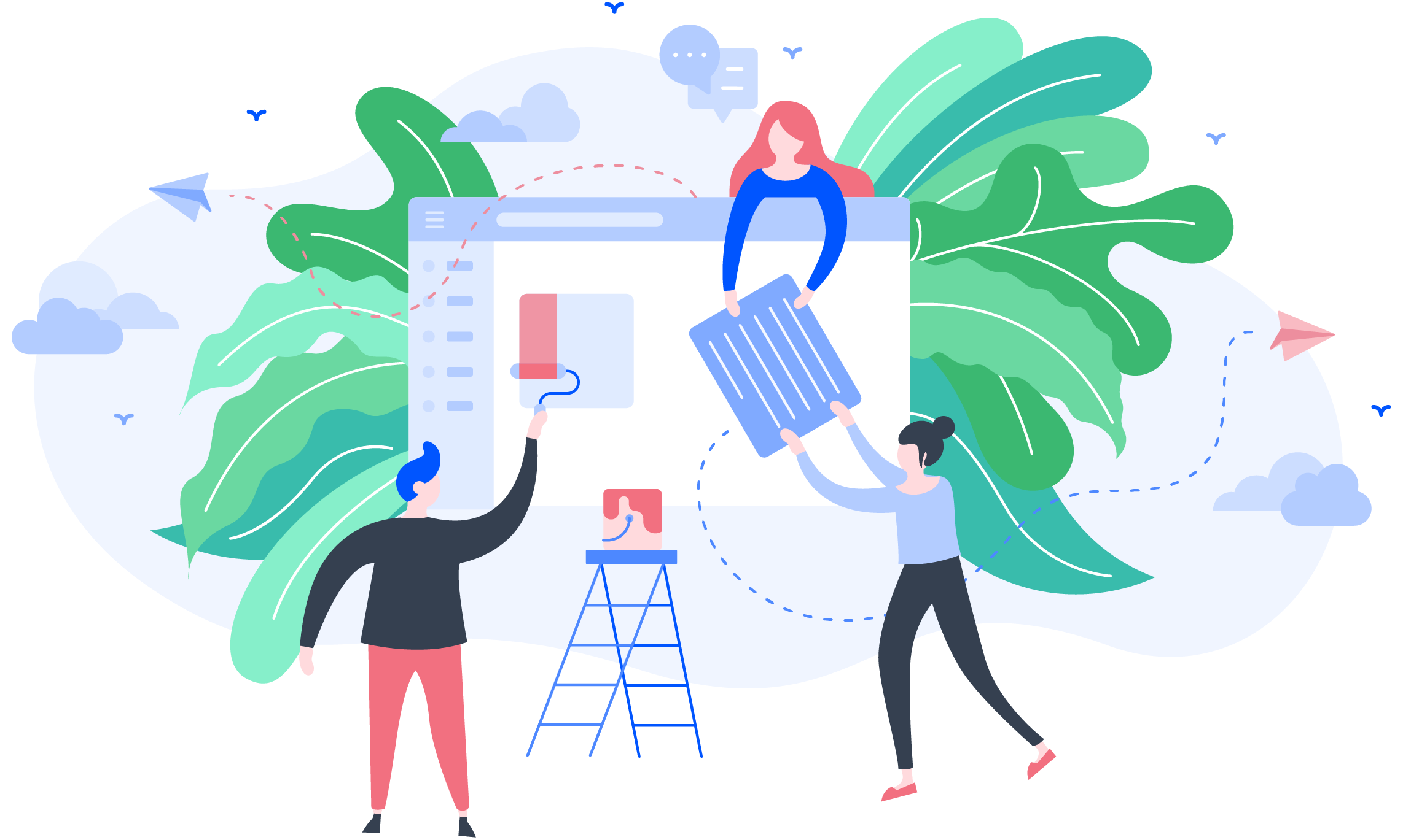 All products_UX Research opt-in programme illustration user feedback learners 500px_23.05.2019_TG_v1
